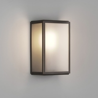 Astro Homefield Frosted Bronze Wall Light 7875