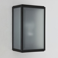 Astro Homefield Frosted Matt Black Wall Light 7081