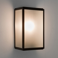 Astro Homefield Sensor Textured Black Wall Light 7266