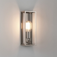 Astro Messina 130 Polished Nickel Wall Light 7860