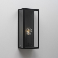 Astro Messina 160 Textured Black Wall Light 0866