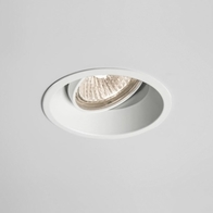 Astro Minima Round Adjustable Matt White Downlight 1249003