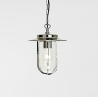 Astro Montparnasse Polished Nickel Pendant 0671