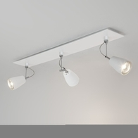 Astro Polar White Triple Bar Ceiling Light 6006