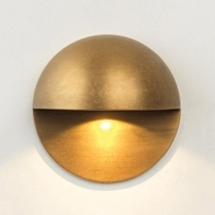 Astro Tivola LED Coastal Brass Outdoor Wall Light 1338004