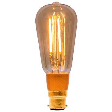 BELL Dimmable LED Vintage Squirrel Cage Lamp Bayonet Cap 01468 image 1