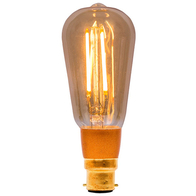 BELL Dimmable LED Vintage Squirrel Cage Lamp Bayonet Cap 01468