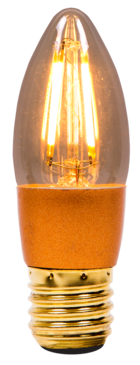BELL LED Vintage Dimmable Candle Edison Screw 01453 image 1