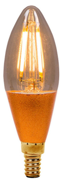 BELL LED Vintage Dimmable Candle Small Edison Screw 01454 image 1