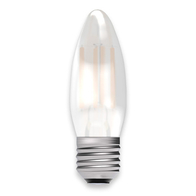 BELL Lighting 4W LED Dimmable Candle ES Satin Finish 05314