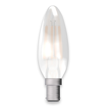 BELL Lighting 4W LED Candle SBC Satin Finish 05128 image 1