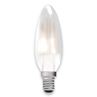 BELL Lighting 4W LED Candle SES Satin Finish 05130