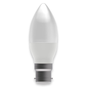 BELL Lighting 4W LED Dimmable Candle BC Opal Warm White 05850
