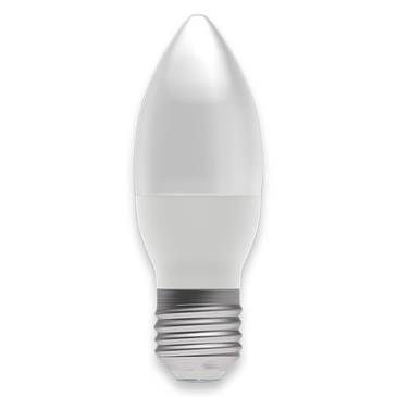 BELL Lighting 4W LED Dimmable Candle ES Opal Warm White 05852 image 1