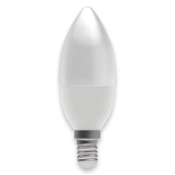 BELL Lighting 7W LED Dimmable Candle SES Opal Warm White 05844
