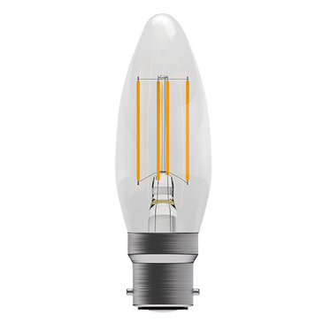 BELL Lighting 4W Led Dimmable Filament Candle  BC  05305 image 1