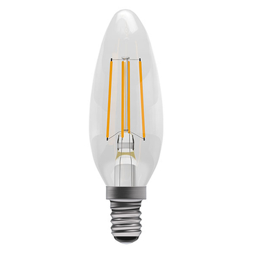 BELL Lighting 4W Led Dimmable Filament Candle SES 05309
