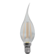 BELL Lighting 4W LED Filament Bent Tip Satin Candle SES Warm White 05027