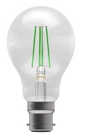 BELL Lighting 4W LED GLS BC Green Lamp 60065