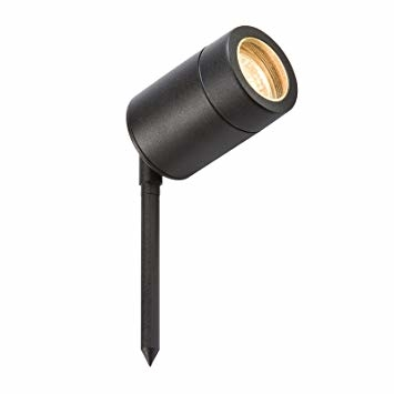 Bell Lighting Luna GU10 Garden Spike Black 10343