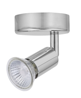 Bell Lighting Luna Single GU10 Spotlight Chrome - 10370