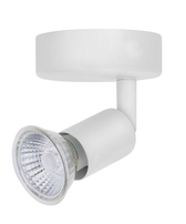 Bell Lighting Luna Single GU10 Spotlight White - 10378