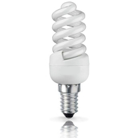 Bell Lighting Mini Energy Saving 7W Spiral SES Quick Start Lamp 04996