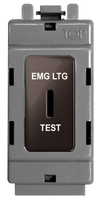 BG Black Nickel Grid Switch 20 Amp 2 Way Key Switch GBN12EL