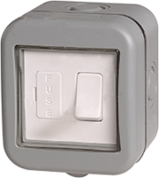 BG Electrical IP55 Outdoor Switched Spur WPB50