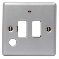 BG Electrical Metal Clad 13A Switched Spur Neon MC551F