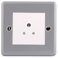 BG Electrical Metal Clad 5A Unswitched Socket MC529