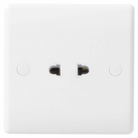 BG Electrical Nexus White Moulded 16A shuttered Euro socket 897