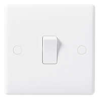 BG Electrical Nexus White Moulded 1G 1W Switch 811