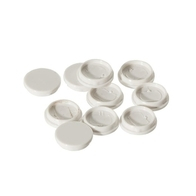 BG Electrical Nexus White Moulded Cover Caps Pk 10 8SC10