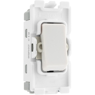BG Electrical White Moulded 20AX Intermediate Grid Switch New Style R13