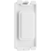 BG Electrical White Moulded Grid Blank New Style RBLNK