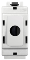BG Electrical White Moulded Grid Flex Outlet GFLEX