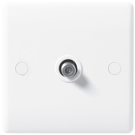 BG Electrical White Moulded Satellite Socket 864