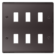 BG Nexus Metal Black Nickel Grid Plate GNBN6