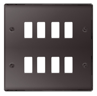 BG Nexus Metal Black Nickel Grid Plate GNBN8