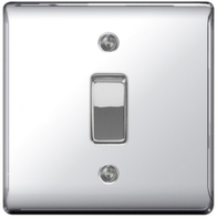 BG Nexus Metal Polished Chrome 20A DP Switch NPC30