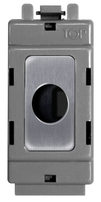 BG Brushed Steel Grid Flex Outlet GBSFLEX