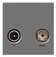 BG TV & Satellite Euro Module Grey EMTVSATG