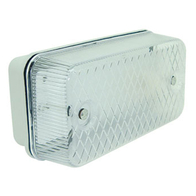 Ansell Bulkhead Rectangular 100W ES Polycarbonate A100PC