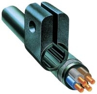 Unicrimp Cable Cleat No.7 Black Pack of 50