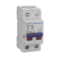 Chint 100A 2 Pole Main Disconnector Switch NH4-80208