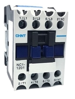 Chint Contactor 12 Amp 3 Main Poles 1 N/C Aux NC1-1201