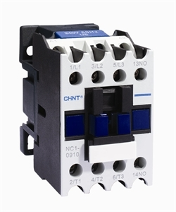 Chint Contactor 25 Amp 3 Main Poles 1 N/C Aux NC1-2501
