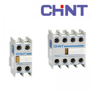 Chint Head Mount Aux Contact Block 4N/O NC1-F440