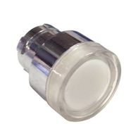 Chint Illuminated Push Button 22.5mm White With Guard NP2-BW314